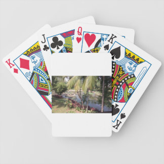 Goa India Garden Bicycle Playing Cards