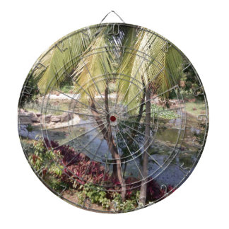 Goa India Garden Dartboard