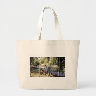 Goa India Garden Large Tote Bag