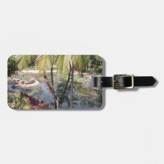 Goa India Garden Luggage Tag