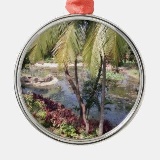 Goa India Garden Metal Ornament