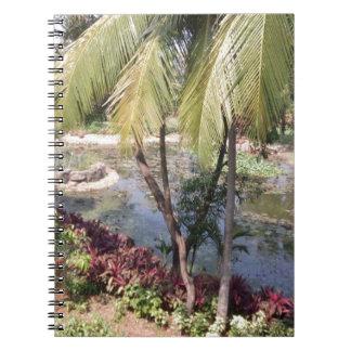 Goa India Garden Notebooks