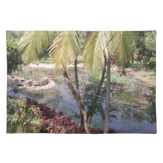 Goa India Garden Placemat
