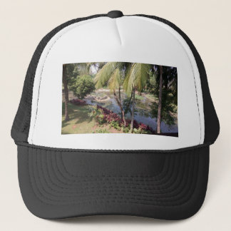 Goa India Garden Trucker Hat