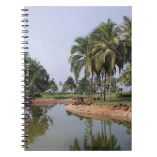 Goa India Spiral Notebook