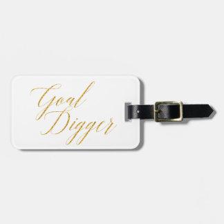 Goal Digger Bag Tag