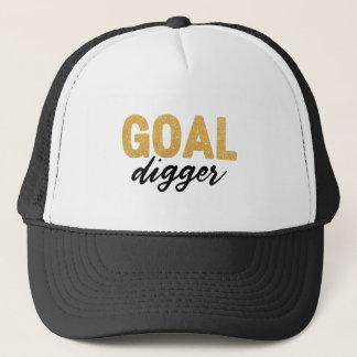 Goal Digger Feminism Trucker Hat