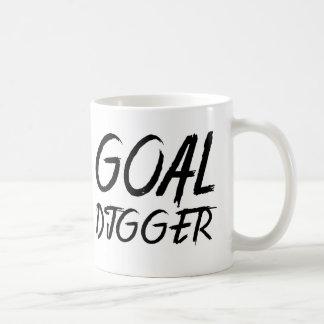 Goal Digger - Paint Brush Letter Coffee Mug