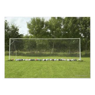 "Goal Full of Balls 5"" X 7"" Invitation Card"