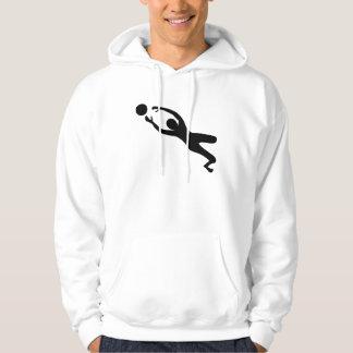 Goal Keeper - Black Hoodie