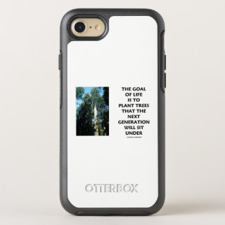 Goal Of Life Is To Plant Trees Next Generation Sit OtterBox Symmetry iPhone 8/7 Case