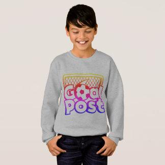 'Goal Post' jumper with gradient print design Sweatshirt