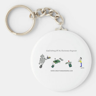 Goal Setting of An Electronics Engineer Key Chain