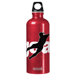 Goal women's soccer player name jersey number water bottle