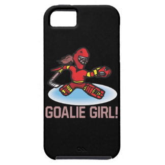 Goalie Girl iPhone 5 Cover