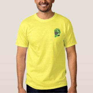 Goalie Helmet Embroidered T-Shirt