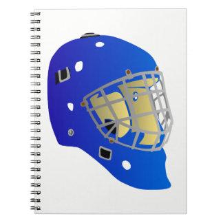 Goalie Mask Notebook