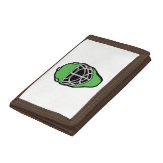 Goalie Mask Tri-fold Wallet