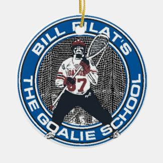 Goalie School Ornament