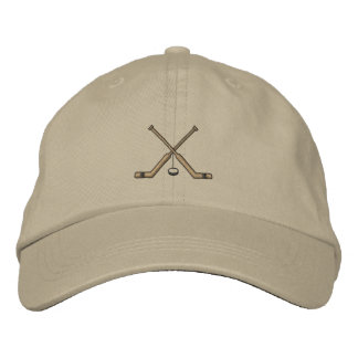 Goalie Sticks Embroidered Hat