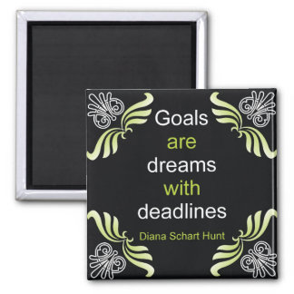Goals Quotation Magnet