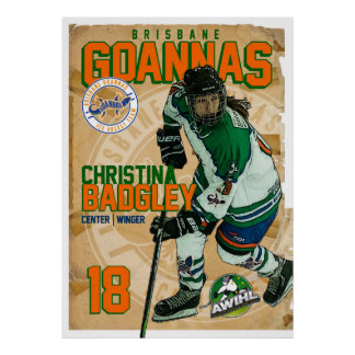 Goannas Passport Poster - Christina Badgley