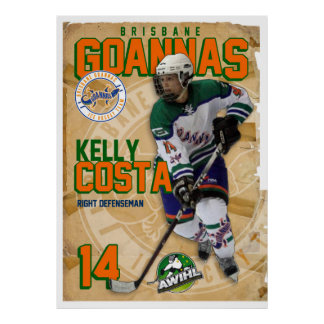 Goannas Passport Poster - Kelly Costa