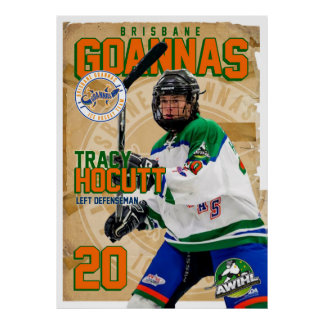 Goannas Passport Poster - Tracy Hocutt
