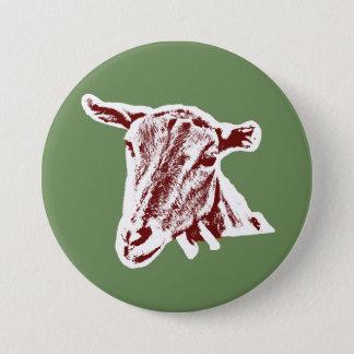 """""""Goat"""" 3 Inch Round Button"""