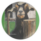 Goat and fence post plate