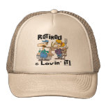 Goat and Retired Family Mesh Hat