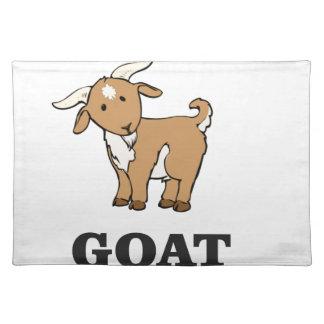 goat art cartoon placemat