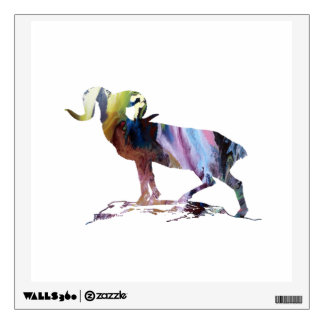 Goat Art Wall Sticker