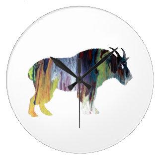 Goat Art Wallclock