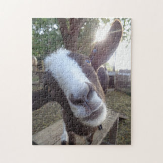 Goat Barnyard Farm Animal Jigsaw Puzzle