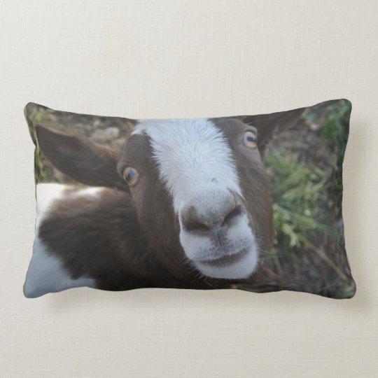 Goat Barnyard Farm Animal Lumbar Pillow