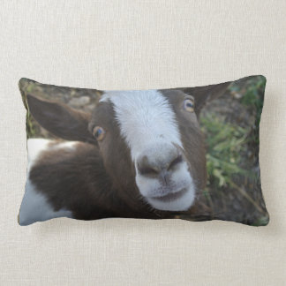 Goat Barnyard Farm Animal Lumbar Pillow