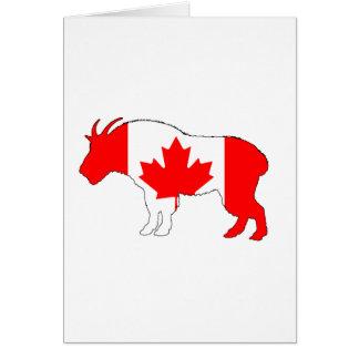 Goat Canada Card
