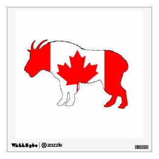Goat Canada Wall Sticker