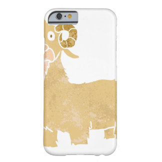 Goat cartoon. barely there iPhone 6 case