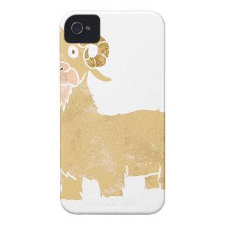 Goat cartoon. iPhone 4 covers