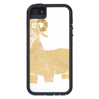 Goat cartoon. iPhone 5 case