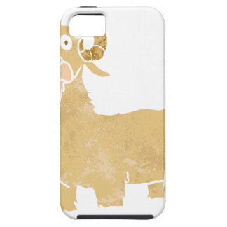 Goat cartoon. iPhone 5 covers