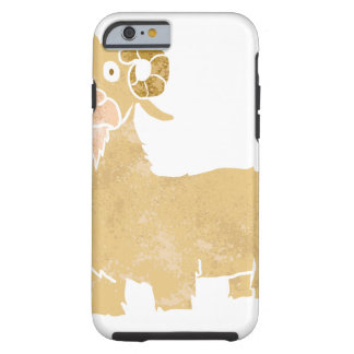 Goat cartoon. tough iPhone 6 case