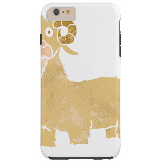 Goat cartoon. tough iPhone 6 plus case