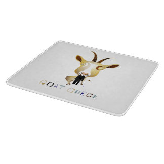 Goat Check – ZooDo Illustration Cutting Board