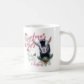 GOAT   Christmas Wishes Baby Goat Kisses Pygmy Coffee Mug