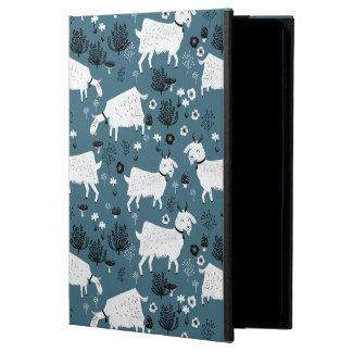Goat Farm Animal Blue Baby Kid Boy / Andrea Lauren Case For iPad Air