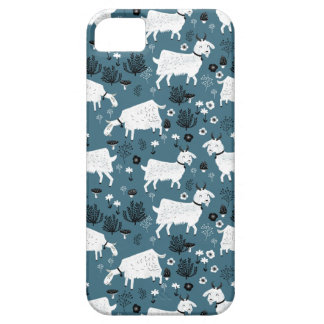 Goat Farm Animal Blue Baby Kid Boy / Andrea Lauren Case For The iPhone 5