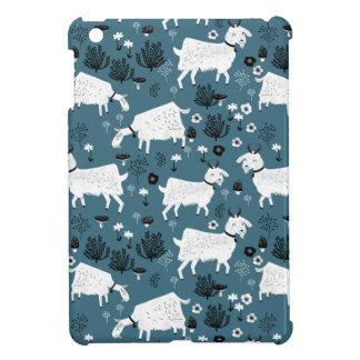 Goat Farm Animal Blue Baby Kid Boy / Andrea Lauren iPad Mini Cases